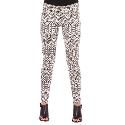 For  Sale: Black & White Patterned Jeans Size 28