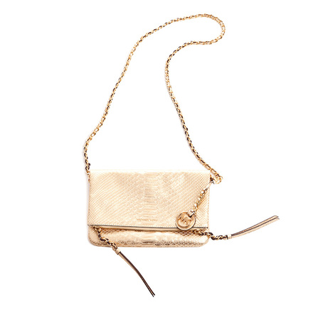For  Sale: Gold Cross Body Bag