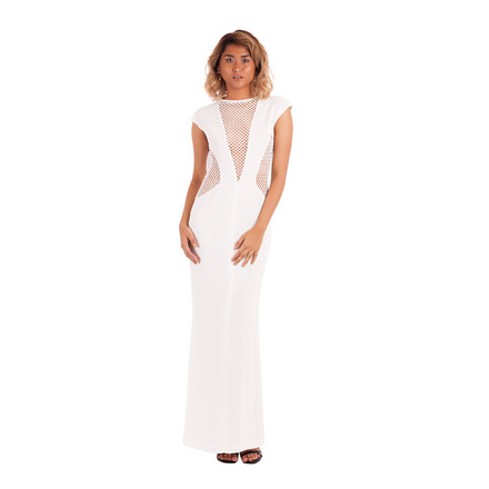 For  Sale: Net Worth Crepe Reversible Gown Size 8