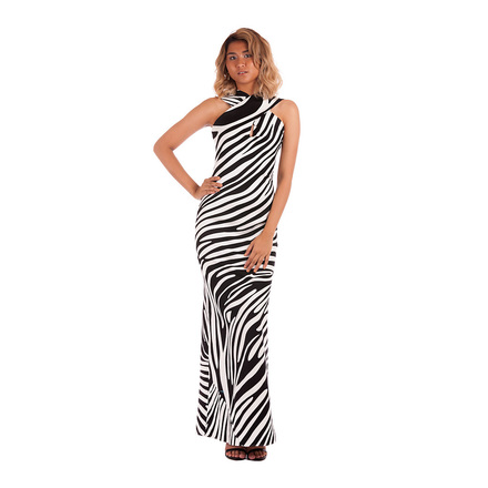 For  Sale: Animal Print Gown Size 6-8