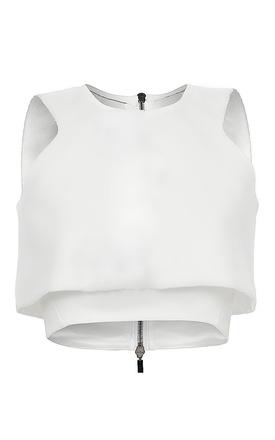 Re-sell: MATICEVESKI Creation Layered Silk Top Size 8
