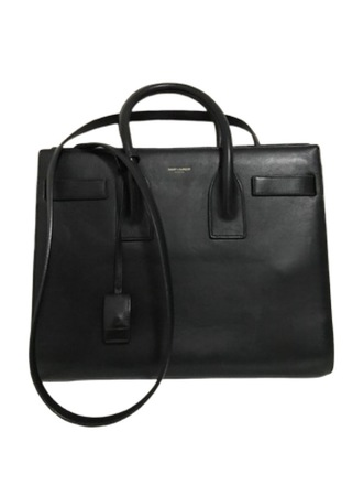 For  Sale: YSL Smooth Leather Small  Sac De Jour Black