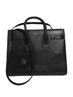 Buy: YSL Smooth Leather Small  Sac De Jour Black