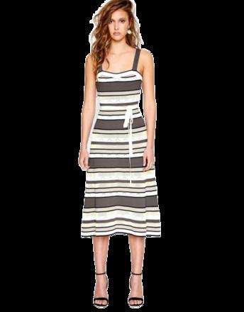 For Rent : Knit Midi Go Go Dress Size 8