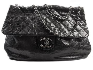 For  Sale: CHANEL Large Leather Flap Handbag