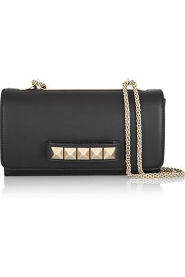 Buy: VALENTINO Va Va Voom Leather Shoulder Bag