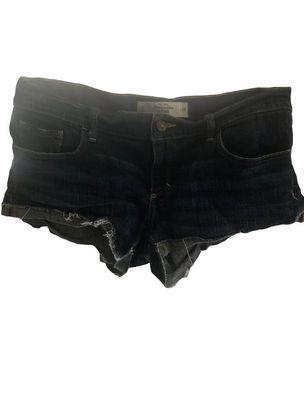 Buy: ABERCROMBIE & FITCH Blue Denim Shorts Size 10