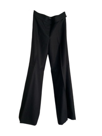 For  Sale: Black Straight Leg Wool Pants Size EU 38