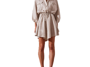 For Rent : SHONA JOY Hamilton Linen Dress Size 12-14