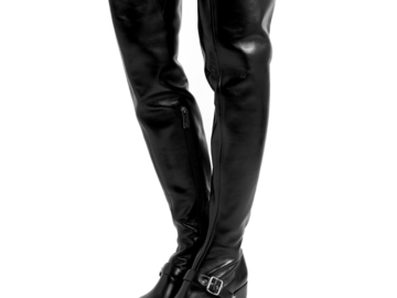 For  Sale: CHLOE Rylee Leather Over-the-Knee Boots Size 9.5 (40) BNWT