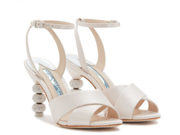 For  Sale: SOPHIE WEBSTER Ivory Wedding/Engagement Heels Size 41 New Season