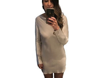 For  Sale: BEC & BRIDGE Ivory Mini Dress with Low Back Size 10