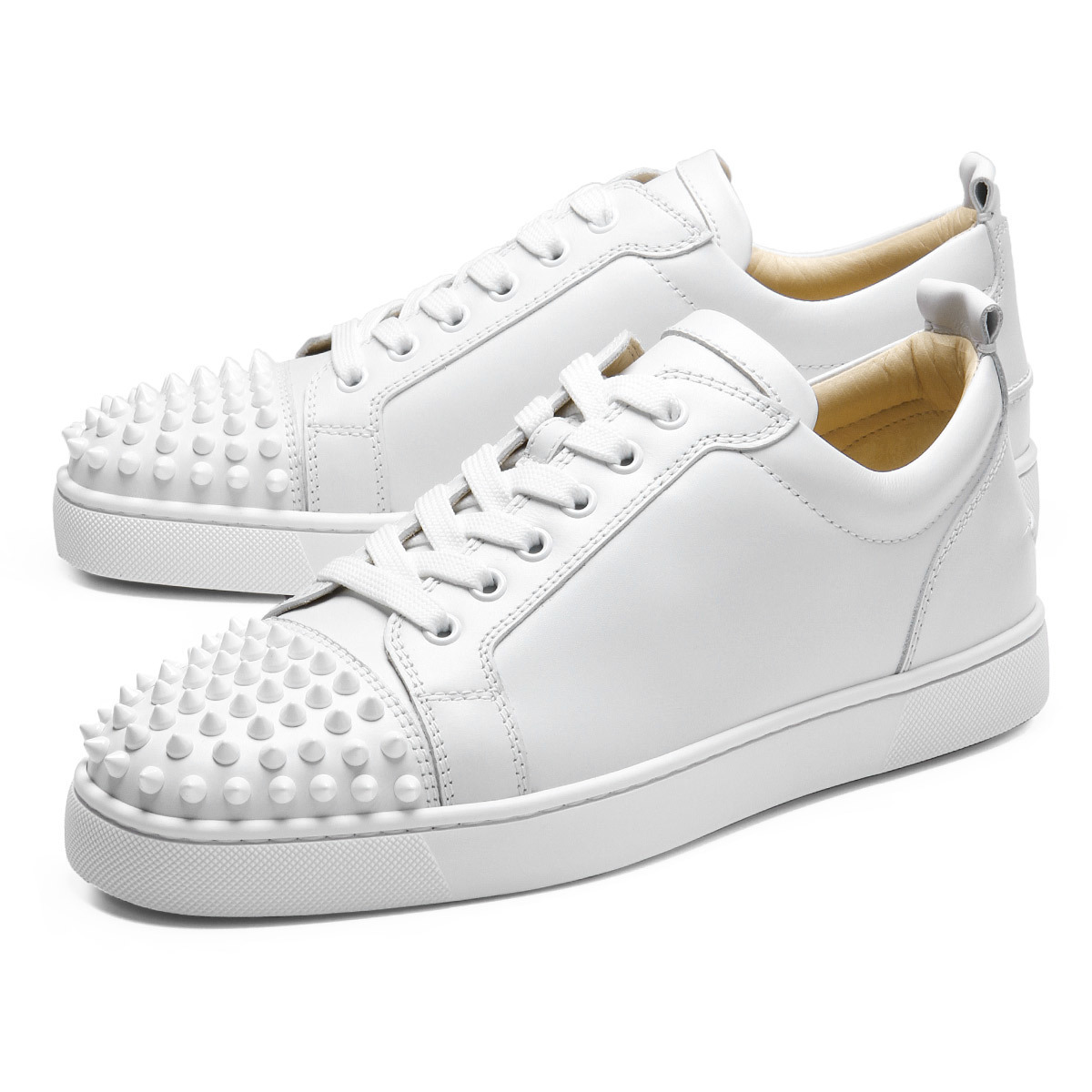 Buy: Leather Stud Sneakers Size 9 (EU 39)