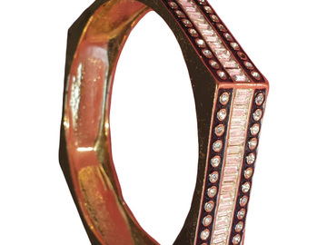 For  Sale: CC SKYE Gold & Black Monaco Hexagon Bangle