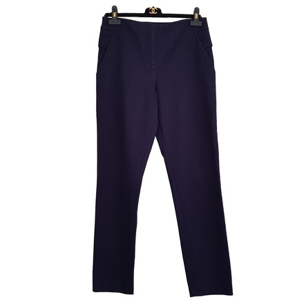For  Sale: Navy Textured Trousers Size 10