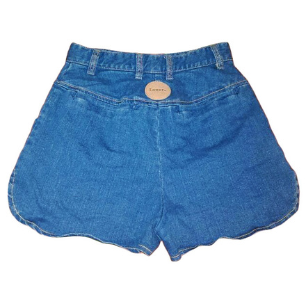 Re-sell: High Waisted Denim Shorts Size 6-8