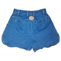 For  Sale: LOVER THE LABEL High Waisted Denim Shorts Size 6-8