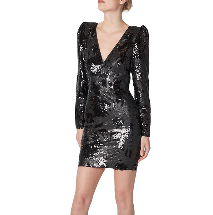 Rent: Dark Night Mini Dress Size 8