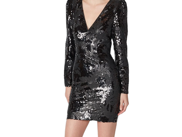 For Rent : TORRANCE Dark Night Mini Dress Size 8