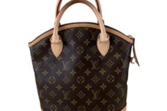 For  Sale: LOUIS VUITTON Lockit Monogram Handbag
