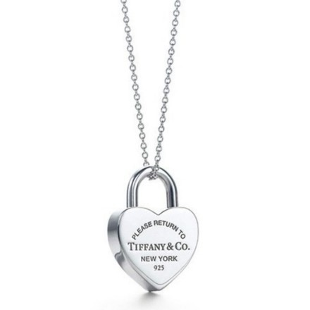 Re-sell: Heart Padlock Pendant Necklace