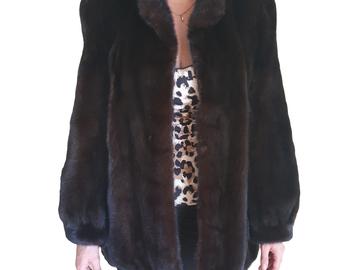 For  Sale: BAILEY'S Diamond Mink Coat Size 10