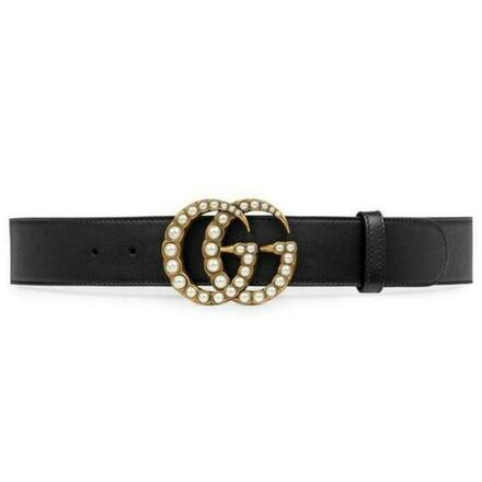 Re-sell: Pearl GG Leather belt size 85