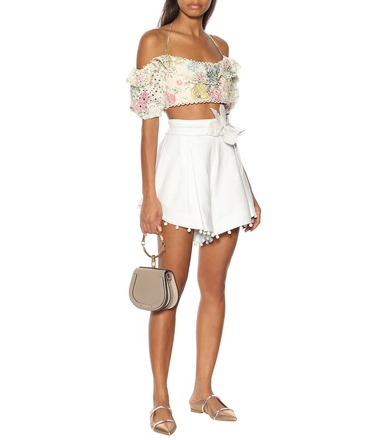 Rent: Corsage Bauble Shorts Ivory Without Bow Size 10