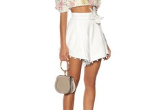 For Rent : ZIMMERMANN Corsage Bauble Shorts Ivory Without Bow Size 10