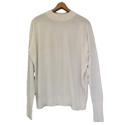 Buy: ASSEMBLY LABEL White Oversized Jumper Size 8