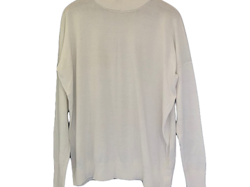 For  Sale: ASSEMBLY LABEL White Oversized Jumper Size 8
