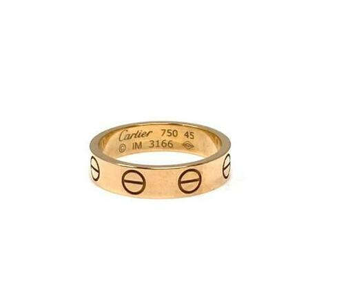Re-sell: Ring, Mini Love 18k Pink Gold 3.5mm Band