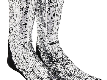 For  Sale: OFF WHITE Sequin Socks One Size BNWT