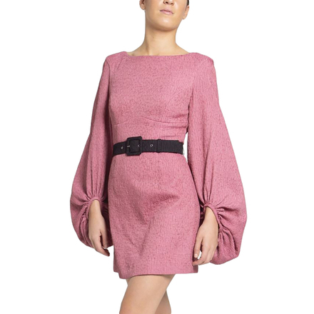 Rent: Greta Mini Dress Pink Size 10