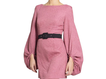 For Rent : REBECCA VALLANCE Greta Mini Dress Pink Size 10