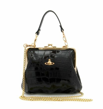 Re-sell: Clasp Croc Chain Bag BNWT