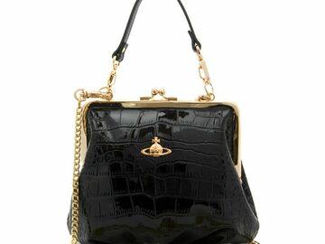 For  Sale: VIVIENNE WESTWOOD Clasp Croc Chain Bag BNWT