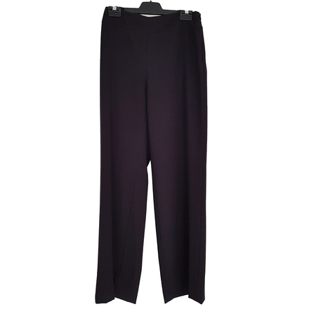 Re-sell: Black Straight Leg Pants Trousers Size 8-10