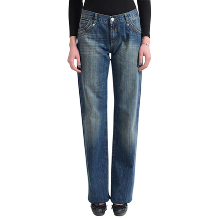For  Sale: Jeans Couture Blue Straight Leg Jeans Size 10
