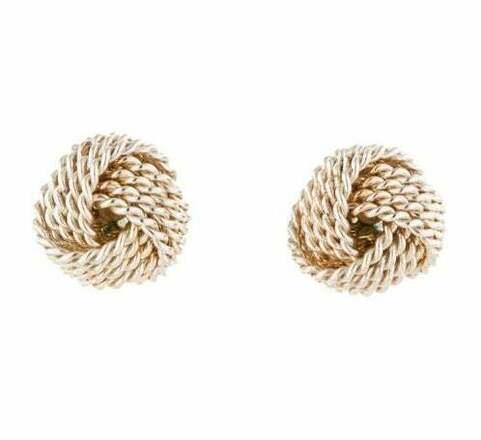 Re-sell: Twist Wire Knot Earrings