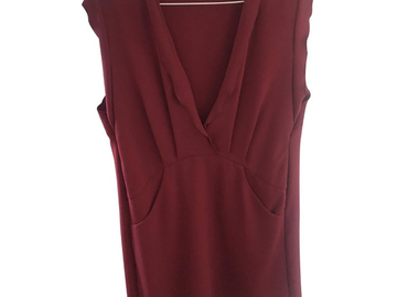 For  Sale: IRO Dress Burgundy red 34 AUS 8