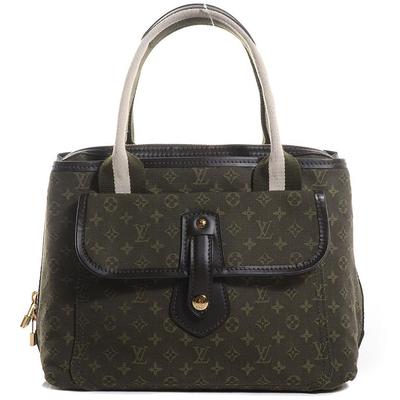 Buy: Bag Monogram Mini Lin Sac Mary Kate Khaki