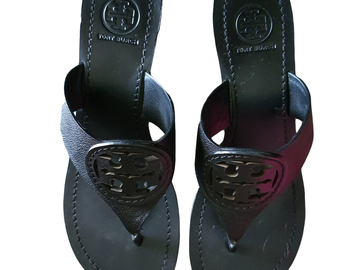 For  Sale: TORY BURCH Black Sandal Size 8
