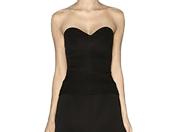 For Rent : CAMILLA & MARC Diana Bustier Black Size 8