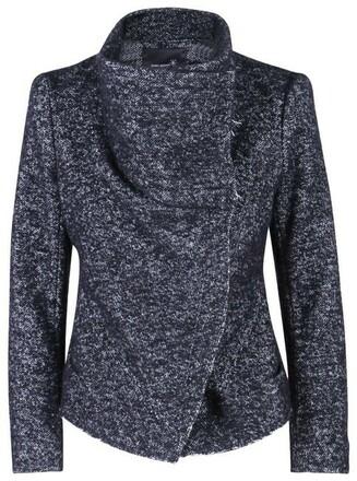 Re-sell: Black White Moto Boulce Zip Jacket