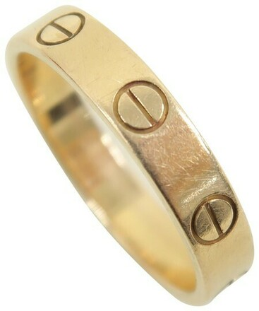 Re-sell: Rose Gold Love Designer Size 52 Ring Size: 6