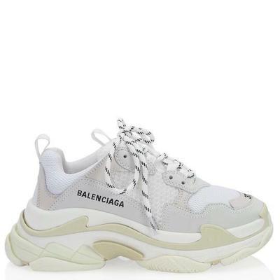 Buy: White Triple Sneakers Size: EU 38