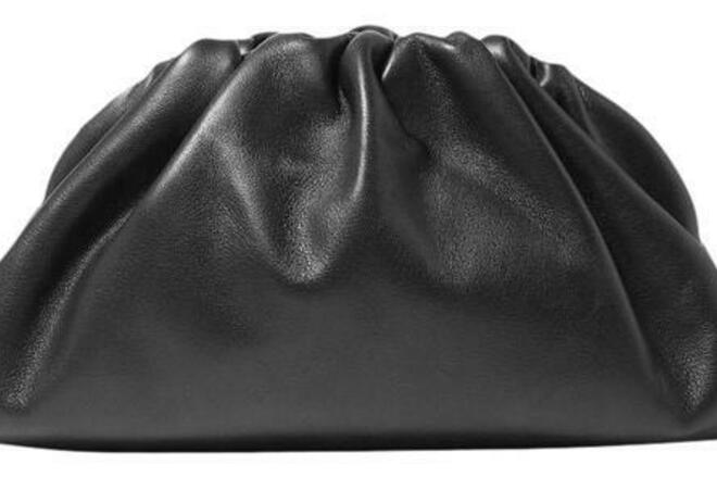 Re-sell: The Pouch 20 Black Leather Shoulder Bag