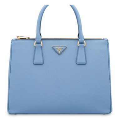 Rent: Galleria Saffiano leather micro-bag blue