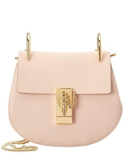 Buy: CHLOE Marcie Medium Leather Pink Shoulder Bag